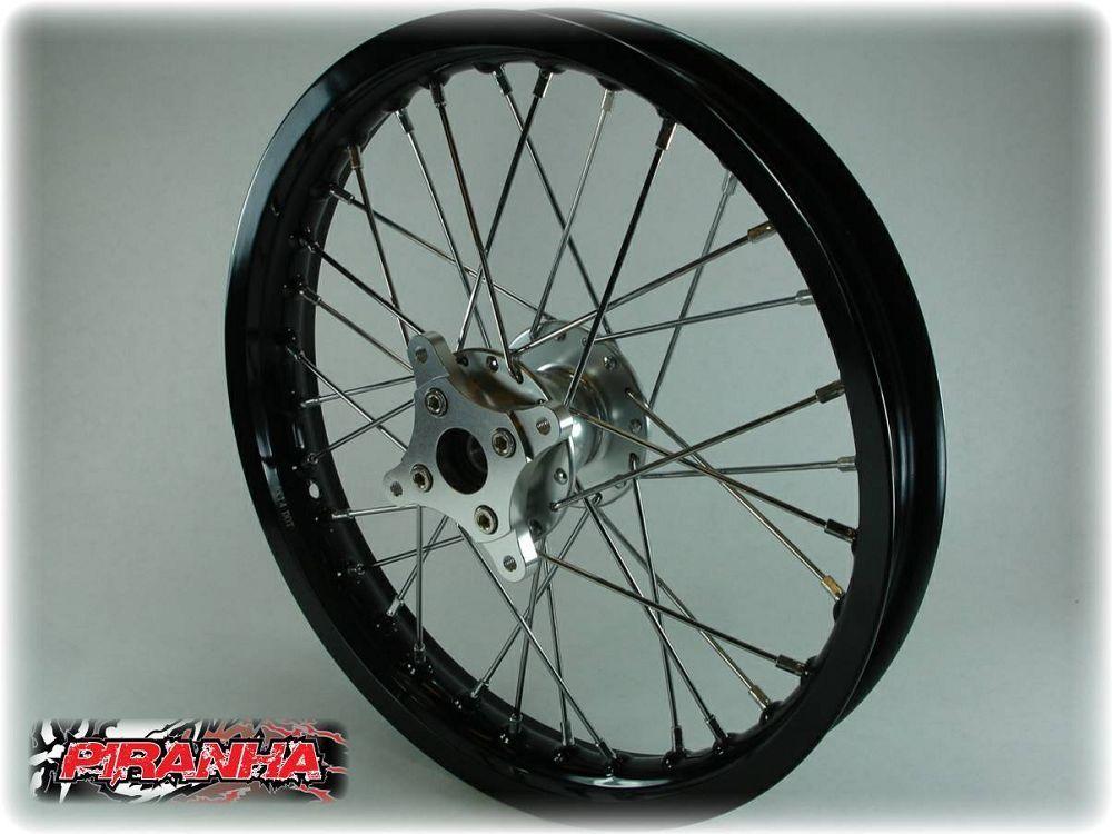 14 Piranha Pit Bike Front 7116 Aluminum Race Wheel Rim
